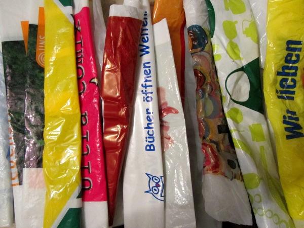 Recyclete Plastiktüten