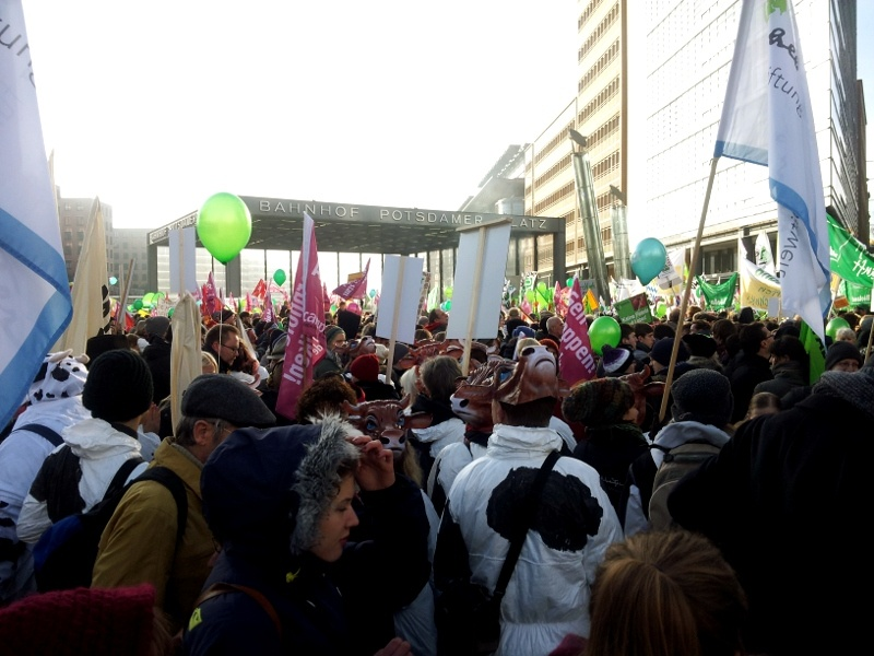 Wir haben es satt! Demo in Berlin