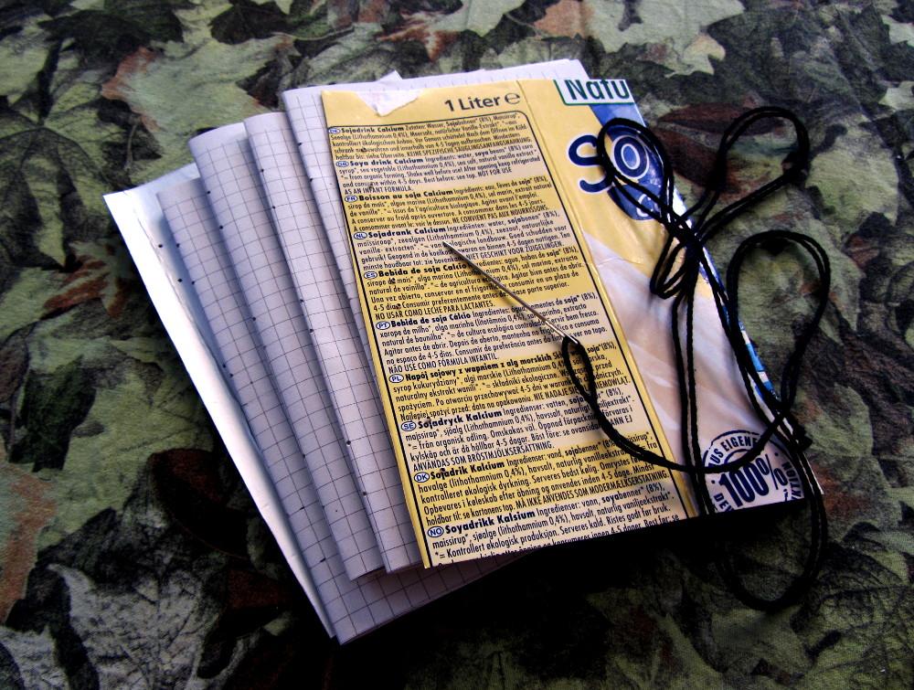 Buchdeckel aus Tetrapak