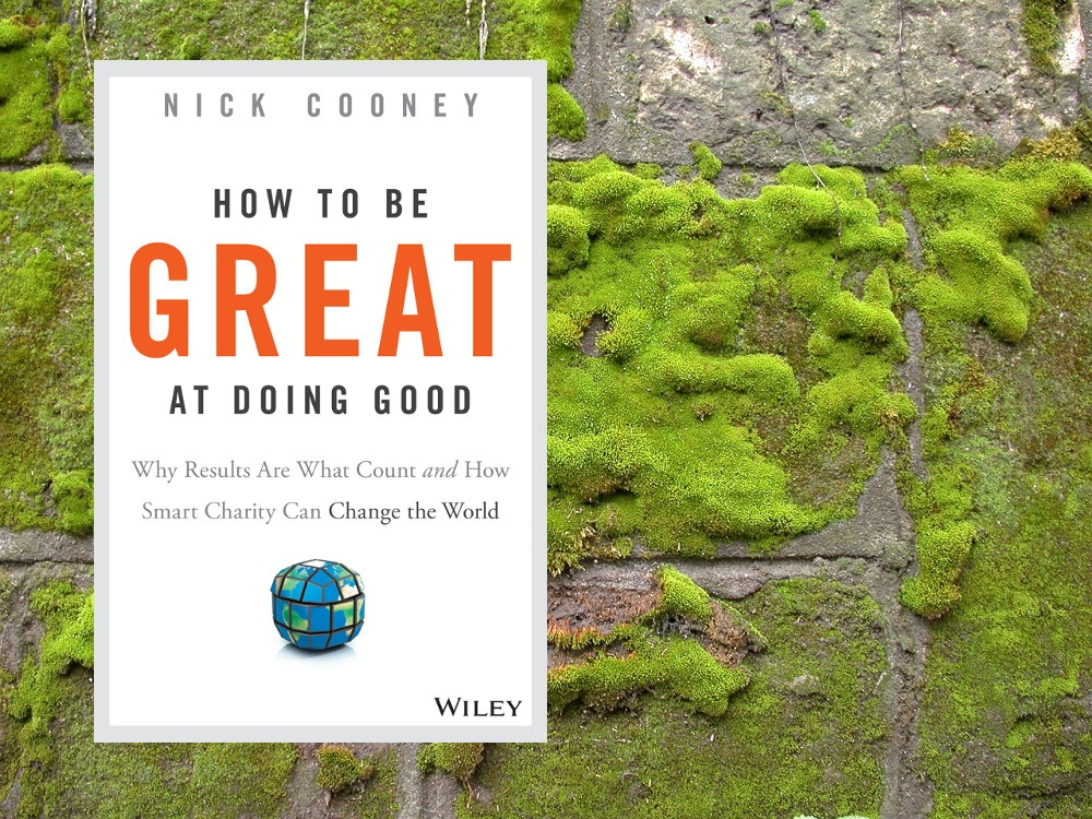 Buchcover How to be Great at Doing Good - Effektiver Altruismus